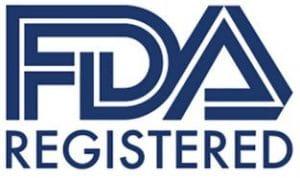 FDA Registered goedgekeurd
