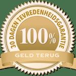 TandenBleken-Thuis 100% tevredenheidsgarantie 30 dagen geld-terug-garantie