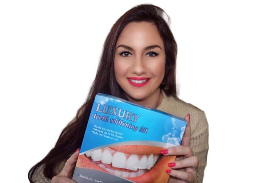 Probeer een professionele tandenbleekset