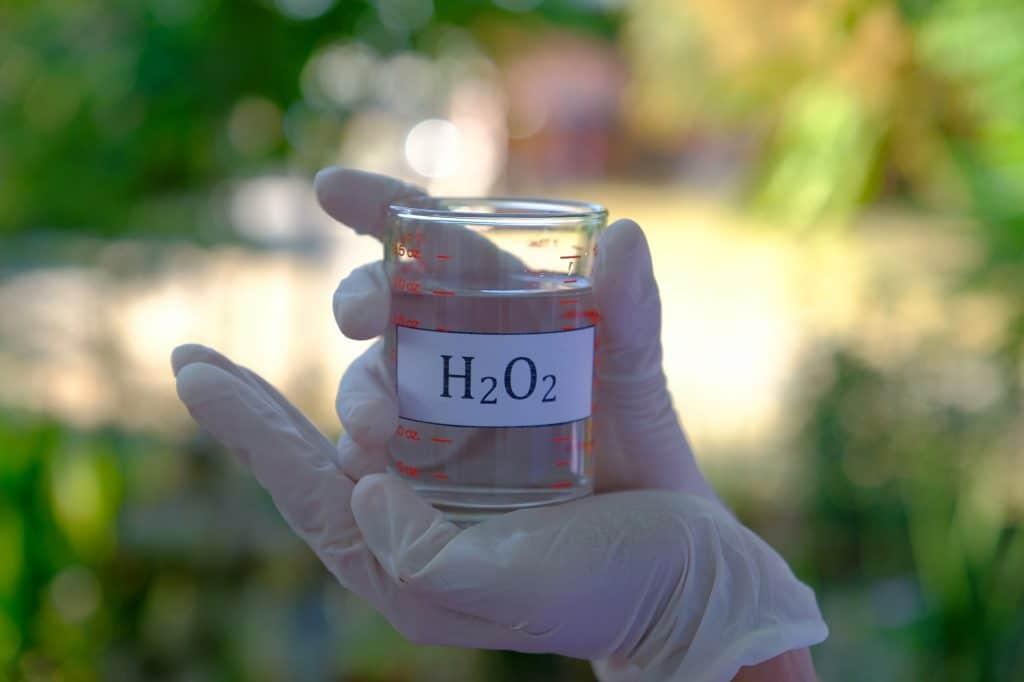 Bleken met of zonder waterstofperoxide