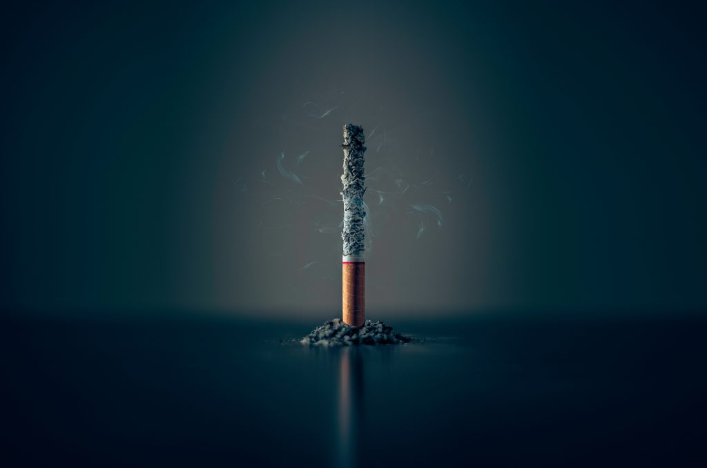 Tanden bleken en roken gaan niet goed samen