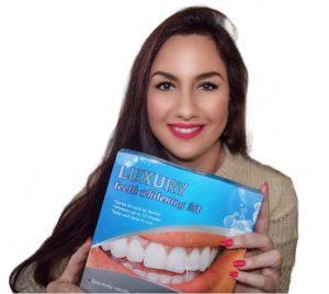 Veilige en onschadelijke tandenbleekset