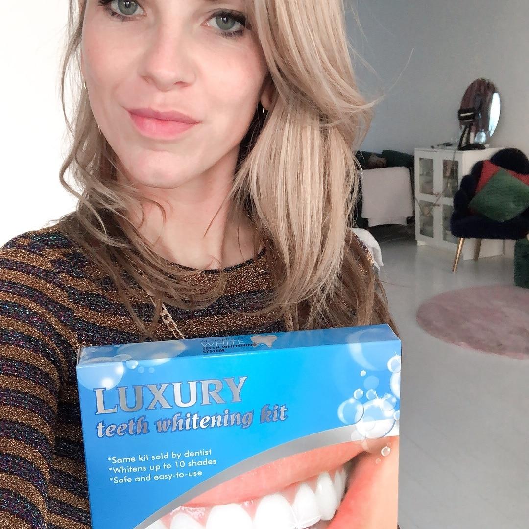 Tess van D. review tandenbleekset