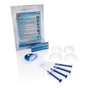 Tandenbleekset met waterstofperoxide